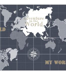 Einzigartige Weltkarte