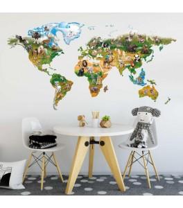 Tierische Weltkarte //...